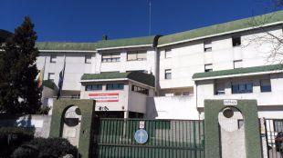 Entrada de la Residencia de Mayores de Alcorcón