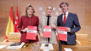 Cifuentes presenta los presupuestos de 2017, que están
