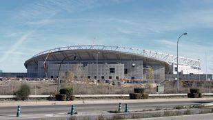 Las obras en el antiguo estadio La Peineta