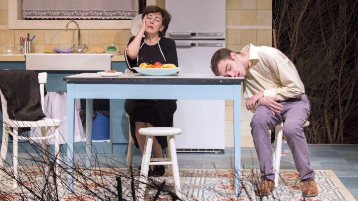 Isabel Ordaz y Nacho Sánchez, en la obra 'He nacido para verte sonreír'.