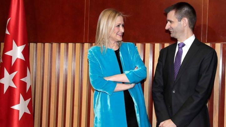 José Pablo López toma posesión como nuevo director de Telemadrid
