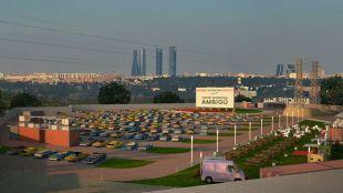 El primer autocine de Madrid abre sus puertas este viernes