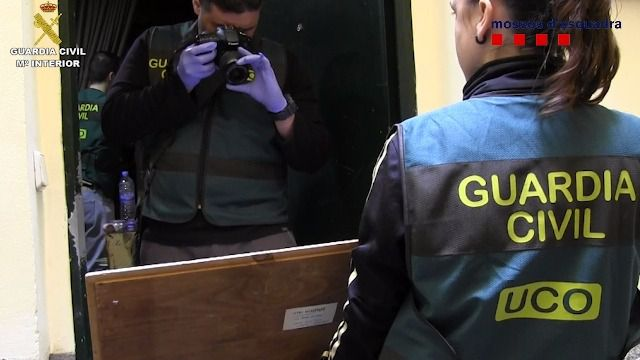 Detenidas seis personas por vender obras falsas de reconocidos pintores