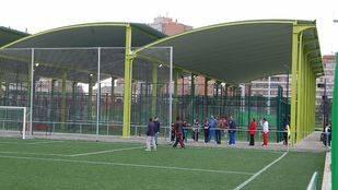 Instalaciones deportivas del Canal de Isabel II en Chamberí.