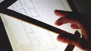 El plano de una vivienda