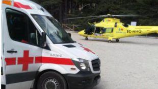 Fallece un ciclista tras sufrir una caída cerca de Cercedilla