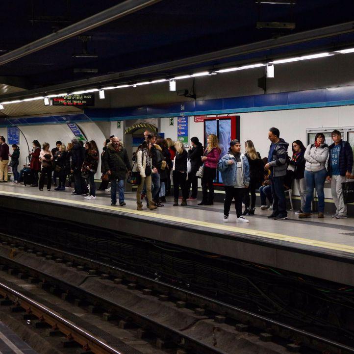 Los paros parciales de los maquinistas de Metro vuelven este lunes