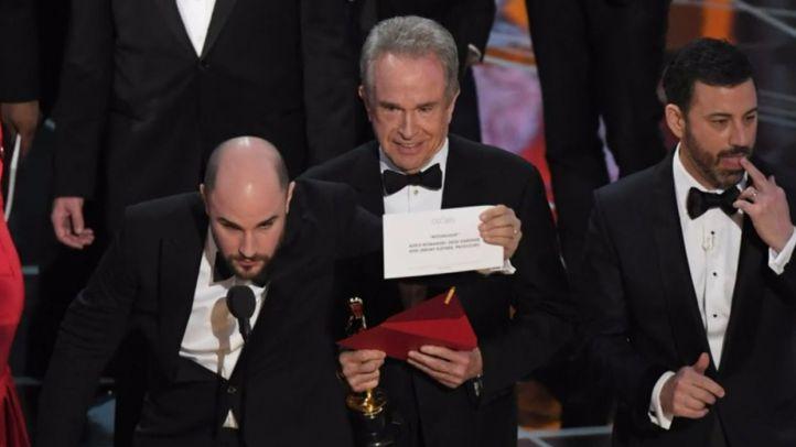 Moonlight gana a La La Land tras una metedura de pata histórica
