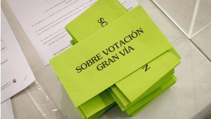 Los madrileños dicen 'sí' a ampliar las aceras en Gran Vía y cambiar el nombre del parque Felipe VI de Valdebebas