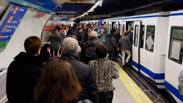 Metro cifra en un 7 por ciento el seguimiento de los paros