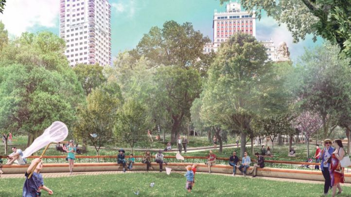Así será la nueva Plaza de España