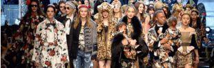 Pasarela de Dolce & Gabbana