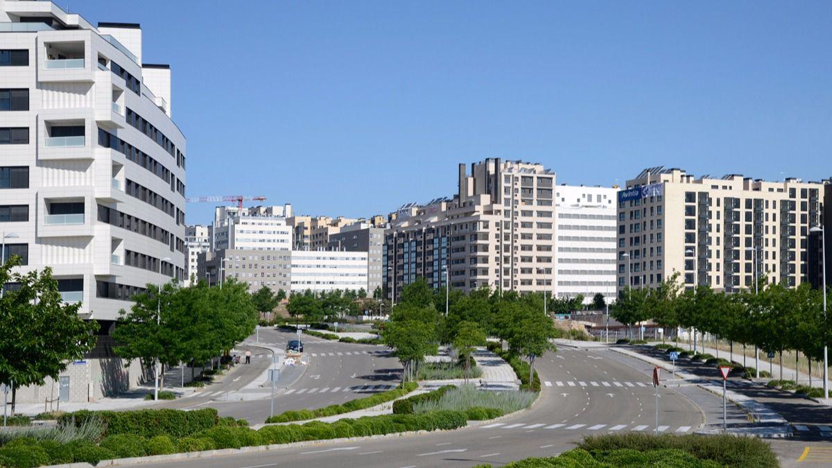 La vivienda p blica del arte facto de valdebebas no es for Viviendas compartidas en madrid