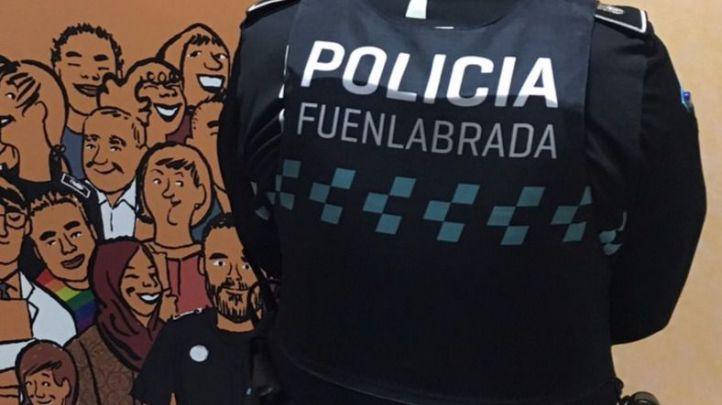 Detenido tras robar 285 euros a punta de pistola en un supermercado de Fuenlabrada