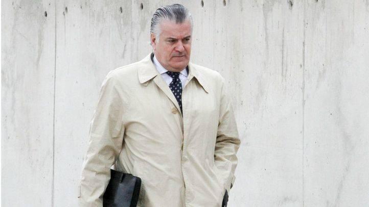 Luis Bárcenas entrando a la Audiencia Nacional (Archivo)