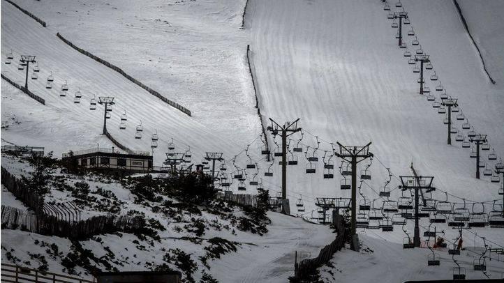 Estación de esquí de Valdesquí en Navacerrada