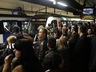 El sindicato de maquinistas de Metro habla de un seguimiento del 100% en la nueva jornada de paros