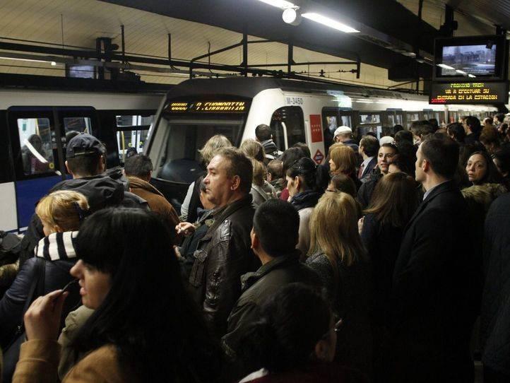 Aglomeraciones en Metro
