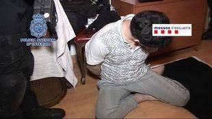 Uno de los detenidos por robos con violencia en joyerías de Madrid y Cataluña
