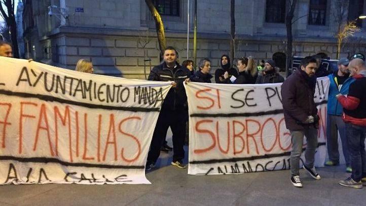Los trabajadores del Moscardó esperan reunirse con Carmena el lunes