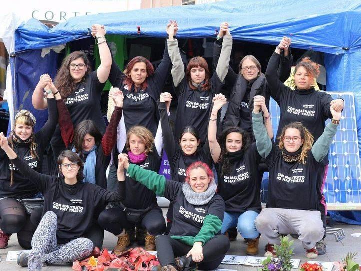 Una docena de estudiantes se une a la huelga de hambre de Sol