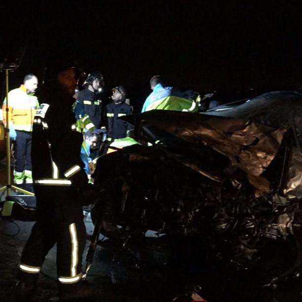 Dos muertos tras un choque de vehículos en Majadahonda