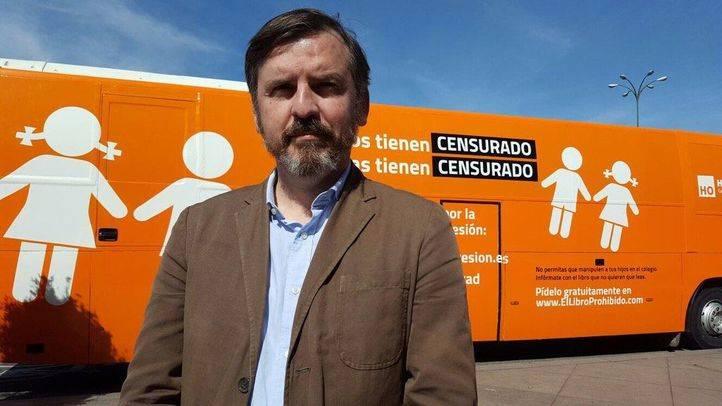 Nuevo autobús de la ONG Hazte Oír