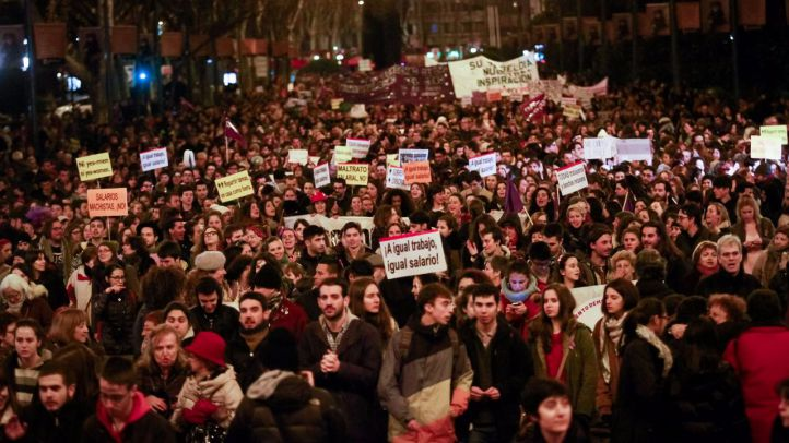 Manifestación del Día de la Mujer (Archivo)