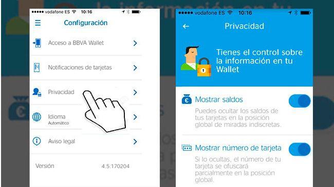 BBVA Wallet incorpora nuevas funcionalidades