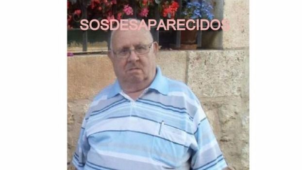 Ángel García Manzando, desaparecido en Getafe