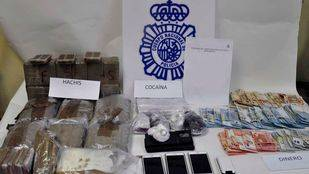Detenidos con más de 16 kilos de droga en Fuenlabrada