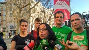 Isabel Galvín, secretaria general de Educación de CCOO en Madrid.