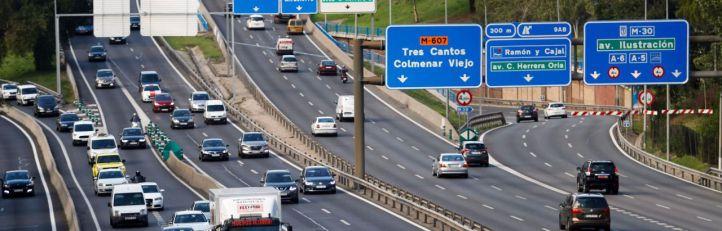 Madrid limita la velocidad en la M-30 por la contaminación