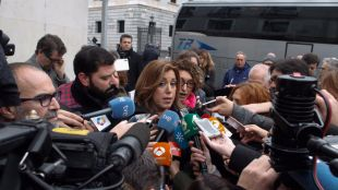 Susana Díaz presentará su candidatura a la Secretaría General del PSOE el día 26 en Madrid