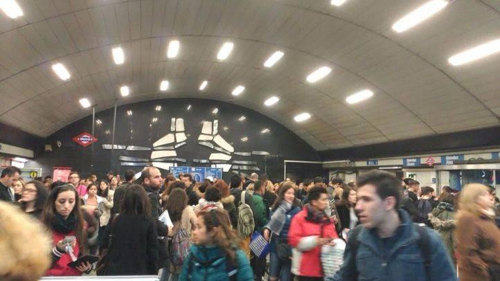 Restablecida la circulación en la línea 6 de Metro entre Planetario y Conde de Casal