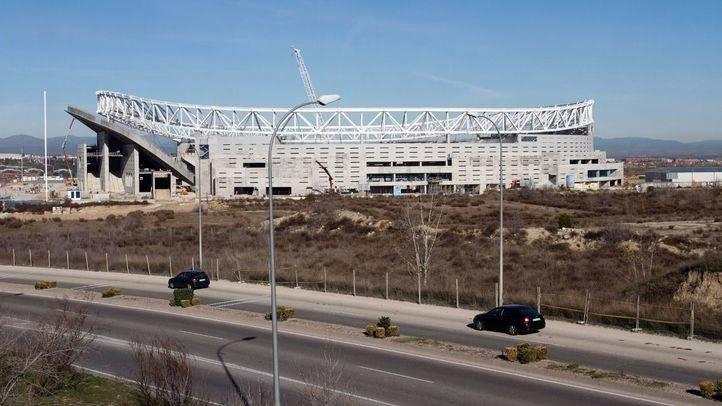 El Wanda Metropolitano contará con 4.000 plazas de aparcamiento público financiadas por el Atlético de Madrid