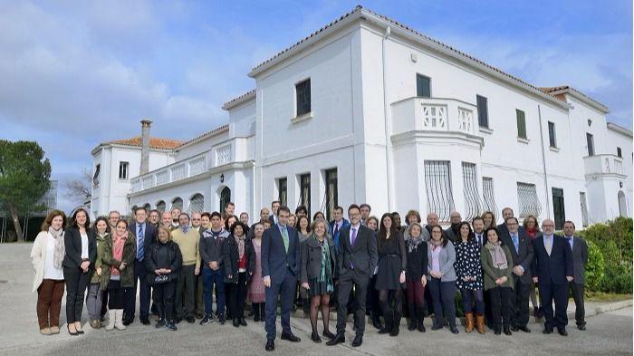 El equipo del nuevo Casvi International American School, hasta ahora Colegio Internacional Pinosierra, en Tres Cantos
