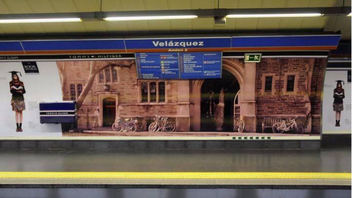 Estación Velazquez de L4 Metro. (Archivo)