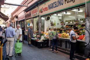 Mercado de Antón Martín (archivo)