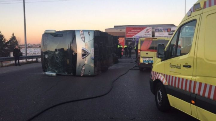 Confirmado el positivo en cocaína del conductor del autobús siniestrado en Fuenlabrada