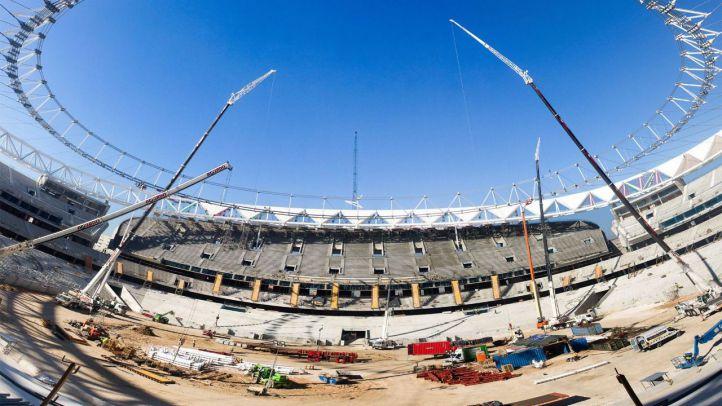 Wanda Metropolitano: así avanzan las obras del nuevo estadio del Atlético de Madrid