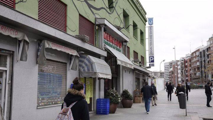 La remodelación del Mercado de Tetuán, lista a finales de año