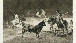 La tauromaquia de Goya se expondrá en Madrid antes de ser subastada en Londres