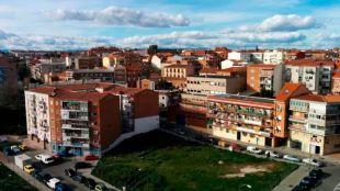 Solar de Vicálvaro que se acondicionará para el proyecto Mares
