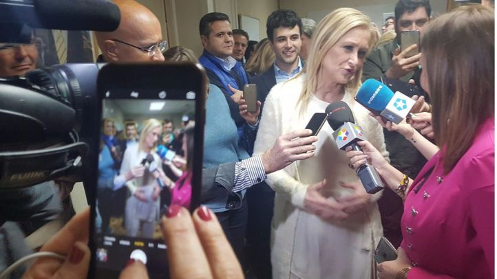 Cifuentes se proclama candidata única para presidir el PP sin necesidad de segunda vuelta