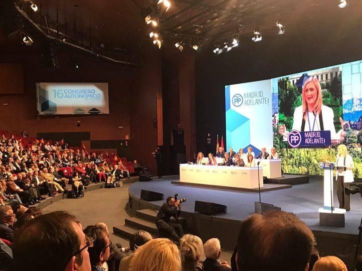 Cristina Cifuentes, en la clausura del congreso regional