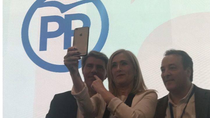 Cristina Cifuentes, en el Congreso regional este sábado