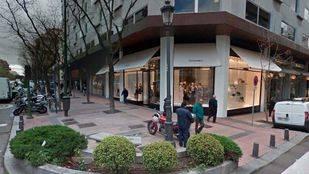 Tienda Chanel en la calle Ortega y Gasset de la Milla de Oro madrileña