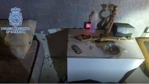 La Policía Nacional desmantela una red de tráfico de drogas en Lavapiés