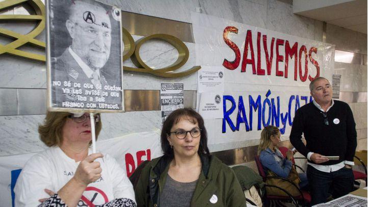 Encierro en el hospital Ramón y Cajal contra los presupuestos sanitarios de la Comunidad